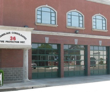 Station 36 - Close up of station front
