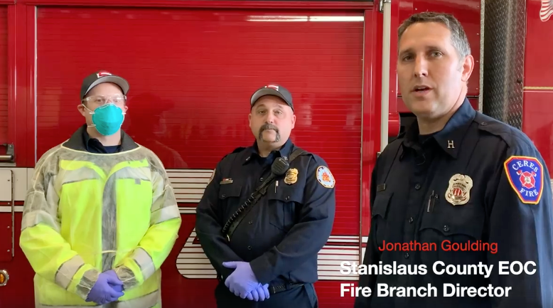 Stanislaus County Firefighters Personal Protective Equipment Changes